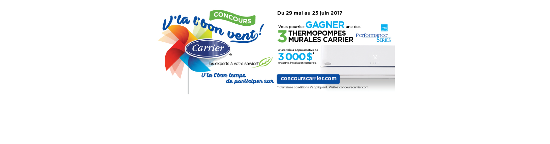 Concours Carrier